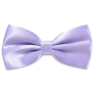 Лиловая атласная галстук-бабочка