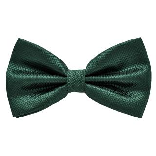 Зеленая галстук бабочка фактурная
