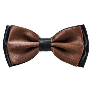 Коричневая галстук-бабочка