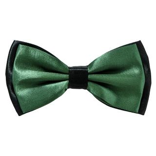 Зеленая галстук бабочка