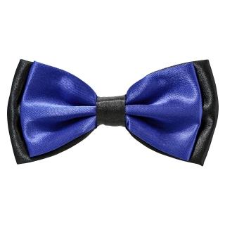 Синяя галстук бабочка