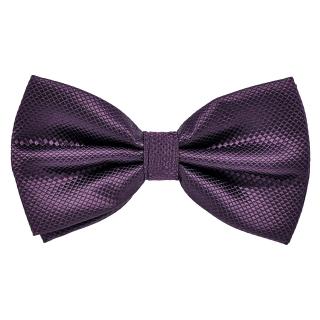 Темно-фиолетовая галстук бабочка
