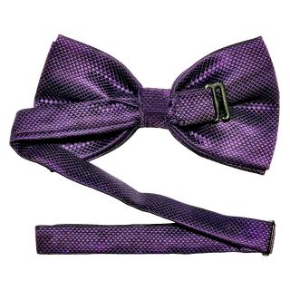 Купить темно-фиолетовую мужскую бабочку