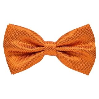 Галстук-бабочка #437 (оранжевая)