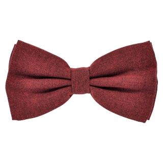 Терракотовая галстук бабочка из шерсти