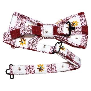 Купить галстук бабочку с принтом