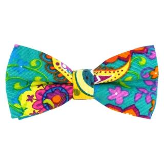 Купить яркий галстук-бабочку с принтом