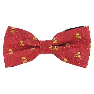 Купить детский галстук-бабочку с мишками