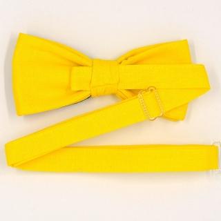 Купить дизайнерский желтый галсутк-бабочку