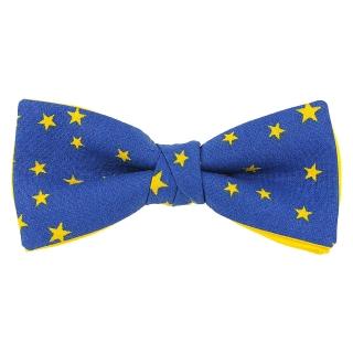Купить дизайнерский галстук-бабочку со звездами