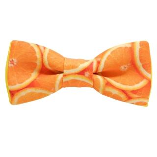Галстук-бабочка апельсин
