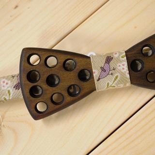 Дизайнерская деревянная бабочка ручной работы