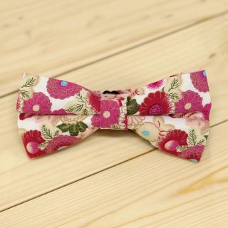Недорогая цветочная галстук-бабочка