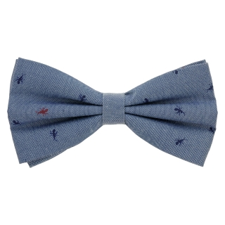 Купить стильную галстук-бабочку на застежке с вставками в виде муравья