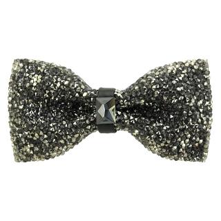 Купить модную галстук-бабочку из плотной хлопковой ткани с узором в виде страз