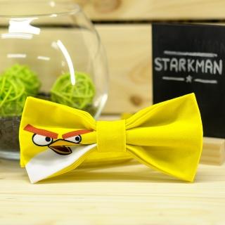Желтый галстук-бабочка Angry Birds