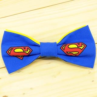 Купить галстук-бабочку с суперменом