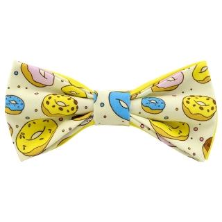 Желтая бабочка с пончиками