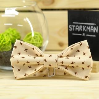 Купить галстук-бабочку с ласточками