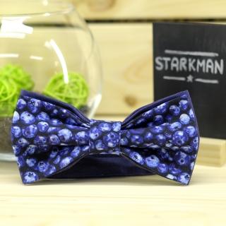 Купить черничный галстук-бабочку