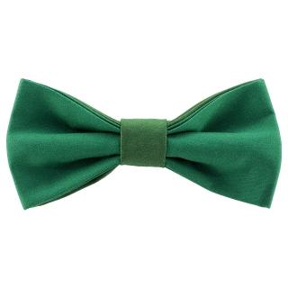 Дизайнерская галстук-бабочка зеленого цвета