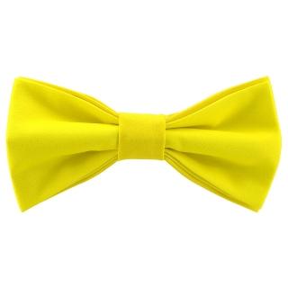 Яркая галстук-бабочка желтого цвета