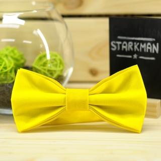Купить галстук-бабочку желтого цвета