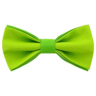 Яркая галстук-бабочка зеленого цвета