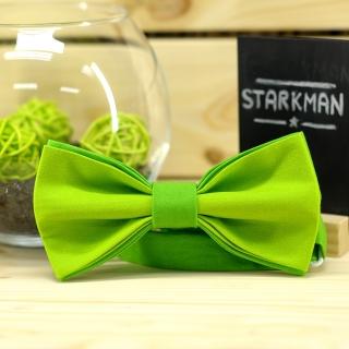 Купить галстук-бабочку зеленого цвета