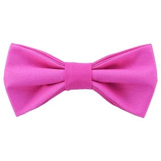 Стильная галстук-бабочка розового цвета
