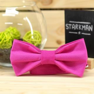 Купить галстук-бабочку розового цвета
