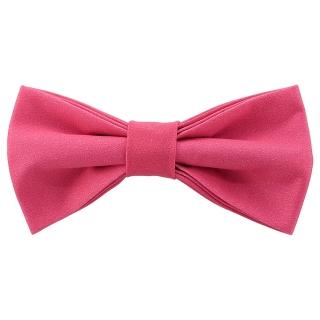 Яркая галстук-бабочка кораллового цвета