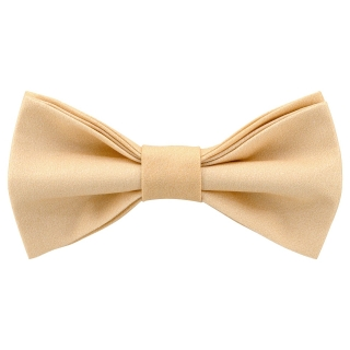 Нежная галстук-бабочка персикового цвета