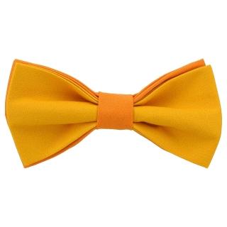 Яркая галстук-бабочка оранжевого цвета