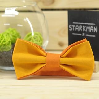 Купить галстук-бабочку оранжевого цвета