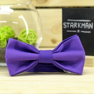 Купить галстук-бабочку фиолетового цвета