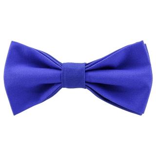 Яркая галстук-бабочка синего цвета