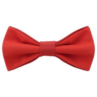 Яркая галстук-бабочка красного цвета