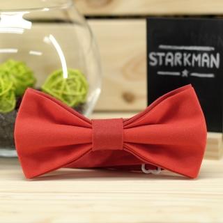 Купить галстук-бабочку красного цвета