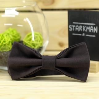 Купить галстук-бабочку коричневого цвета