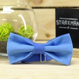 Купить галстук-бабочка синего цвета