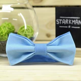 Купить галстук-бабочку голубого цвета