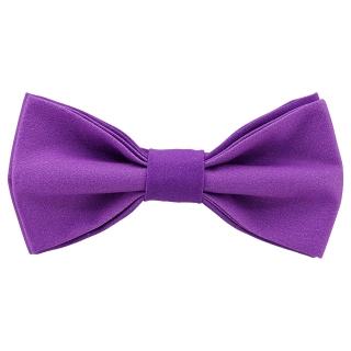 Яркая галстук-бабочка сиреневого цвета