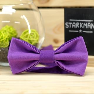 Купить галстук-бабочку сиреневого цвета