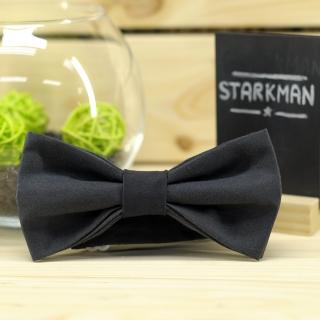 Купить галстук-бабочку черного цвета
