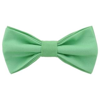 Яркая галстук-бабочка цвета тиффани