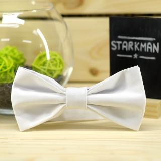 Купить галстук-бабочку белого цвета