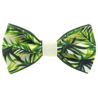 Купить галстук-бабочку с пальмой