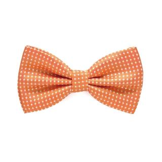 Галстук-бабочка #733 (оранжевая)