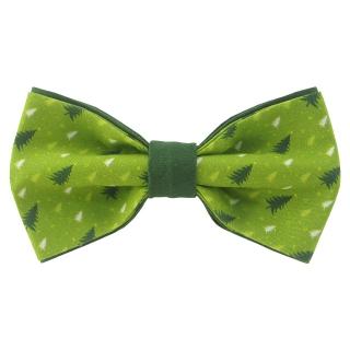 Новогодняя елочная бабочка зеленая